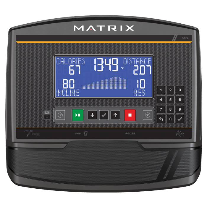 Matrix U50 Upright Bike with XR Console