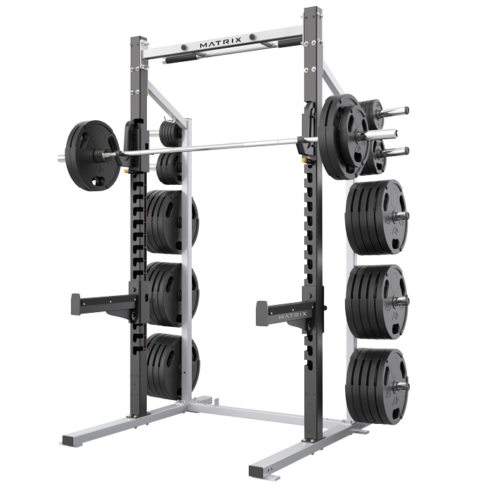Matrix Varsity 8 ft Half Rack