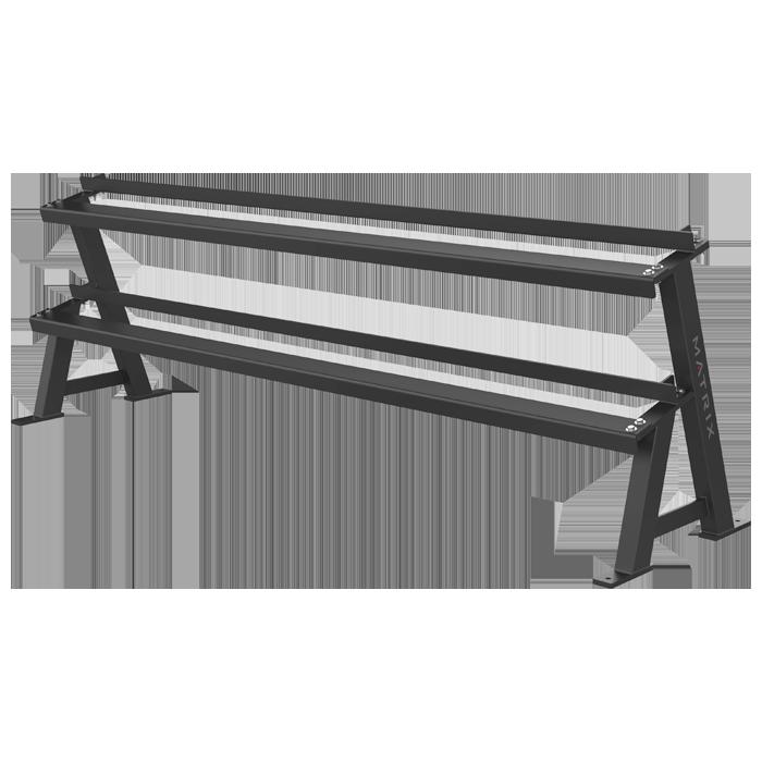 Matrix Varsity Series 2-Tier Hex Dumbbell Rack