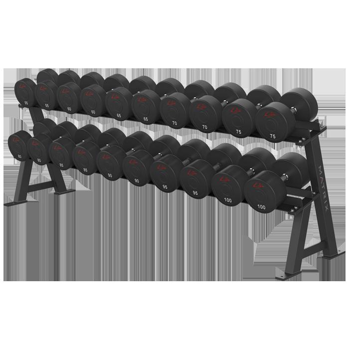 Matrix Varsity Series 2-Tier Dumbbell Rack