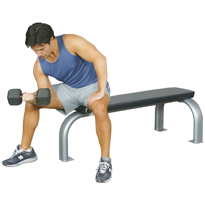 Inflight Fitness Flat Bench