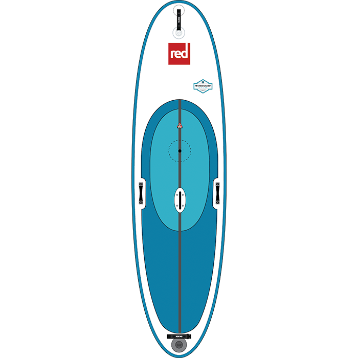 Red Paddle Co 10ft 7in Windsurf MSL SUP