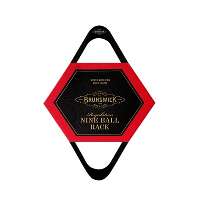 Brunswick Billiards 9-Ball Rack