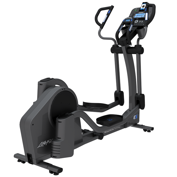 Life Fitness E5 Elliptical Cross-Trainer with Track+ Console - Floor Model