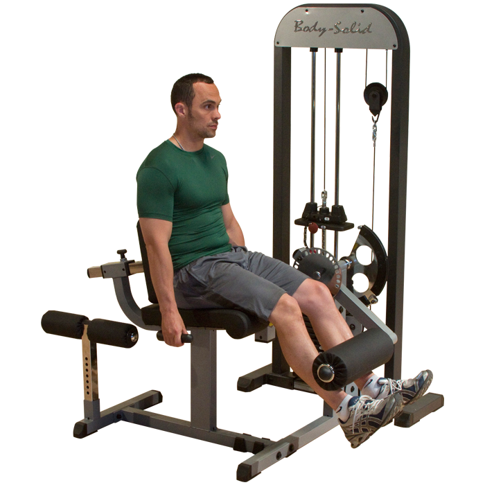 Body-Solid PRO-Select Leg Extension & Leg Curl Machine