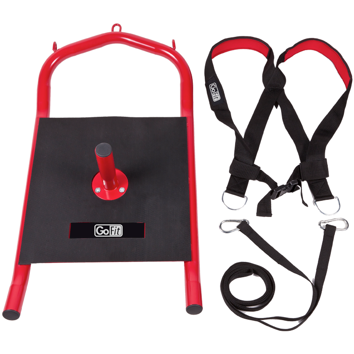 GoFit Power Sled with Harness & Tether
