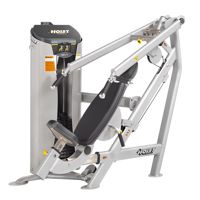 Hoist HD-3300 Chest Press-Shoulder Press