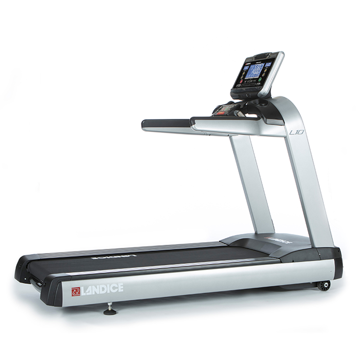 Landice L10 Club Treadmill with Pro Sports Control Panel