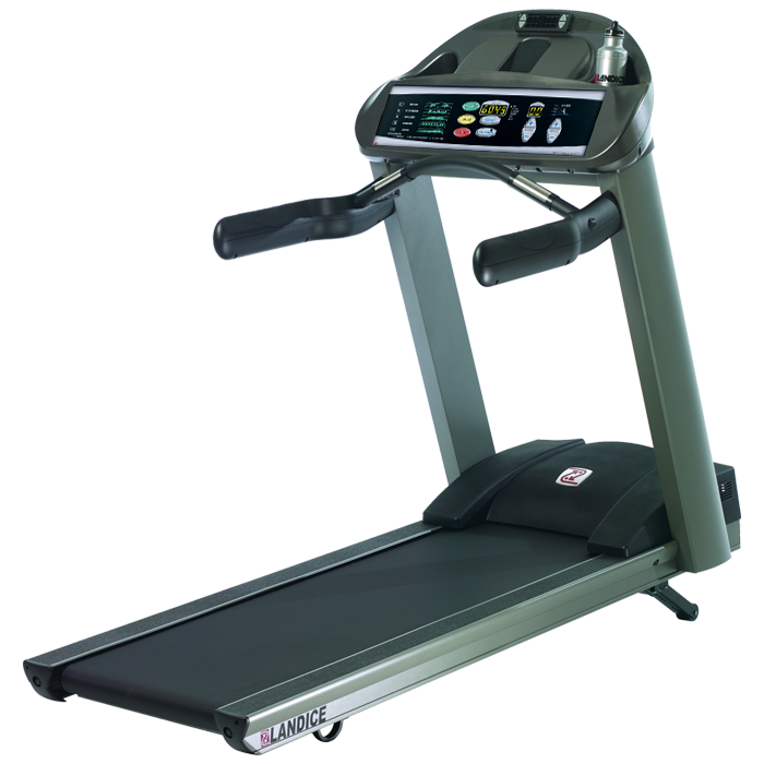 Landice L7 Treadmill with Pro Trainer Control Panel
