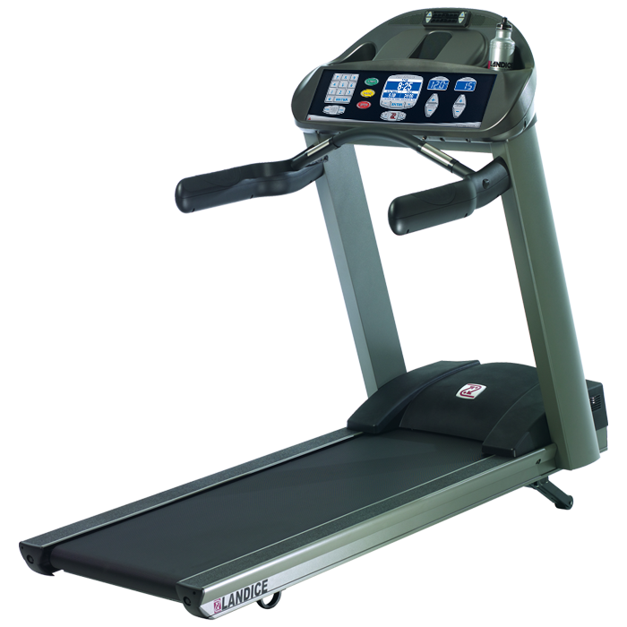 Landice L7 Treadmill with Pro Sports Control Panel (Orthopedic Belt)