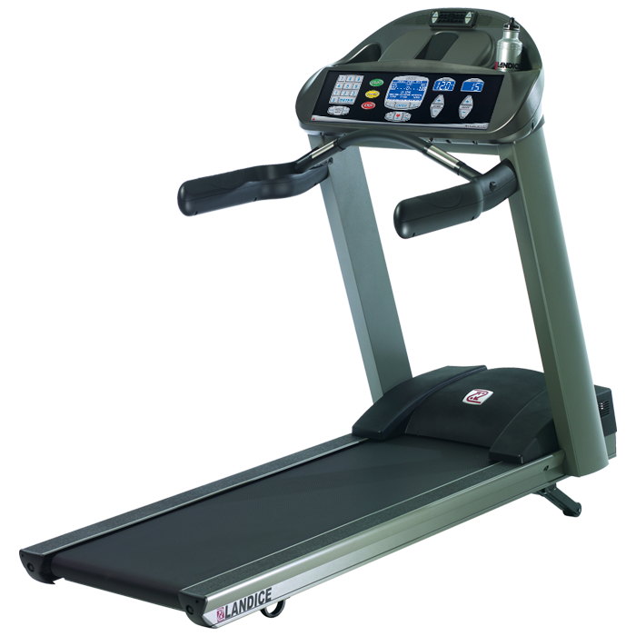 Landice L8 Treadmill with Cardio Control Panel (Orthopedic Belt) - Floor Model