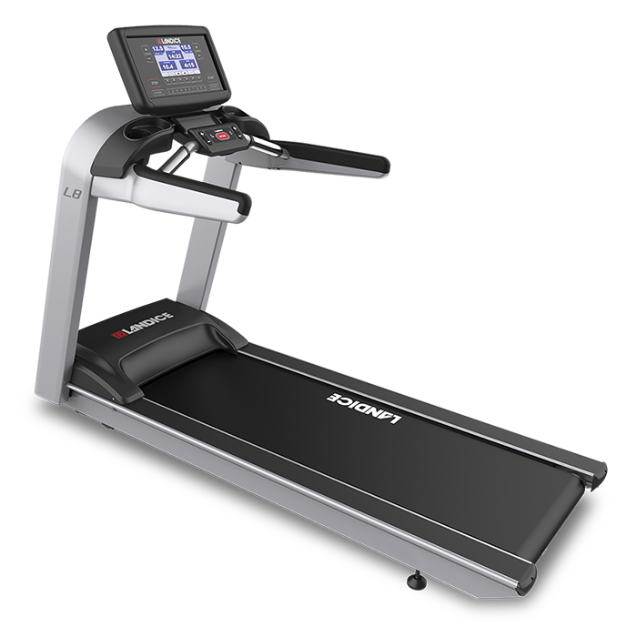 Landice L8 Treadmill with Achieve Control Panel (Orthopedic Belt)