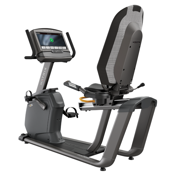Matrix R50 Recumbent Bike with XIR Console