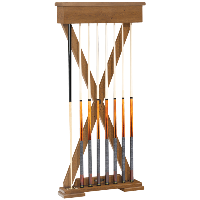 Brunswick Brixton Cue Rack - Beachwood - DISCONTINUED  - LIMITED SUPPLY