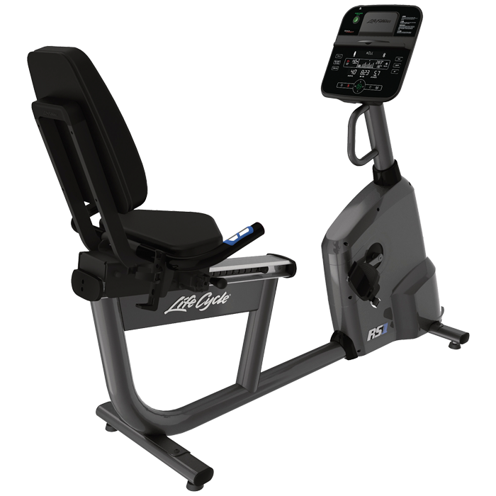 Life Fitness RS1 Recumbent LifeCycle with Track Connect