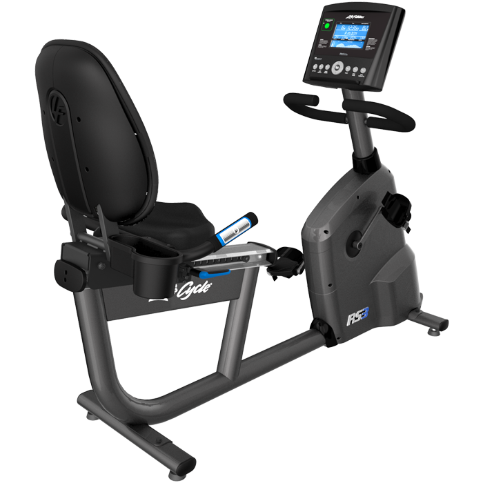 Life Fitness RS3 Recumbent LifeCycle with Go Console