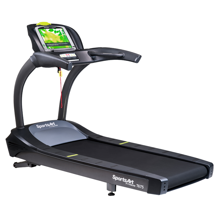 SportsArt T675-15 Treadmill with 15 inch Touchscreen LCD Console