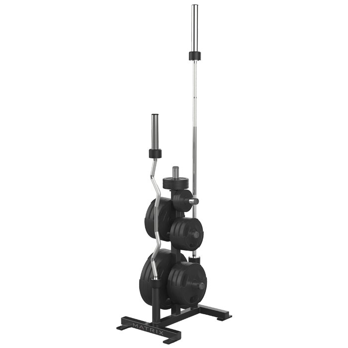 Matrix Varsity Series Weight Tree with Olympic Bar Holders