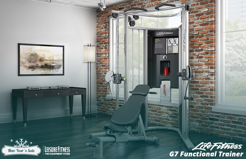 Life fitness g functional trainer home gym johnson fitness