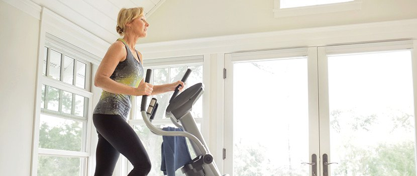 workout machine like an elliptical