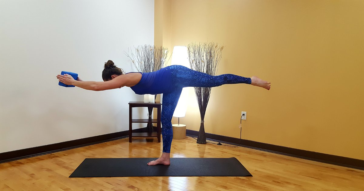Warrior 3: Beginner Yoga Pose