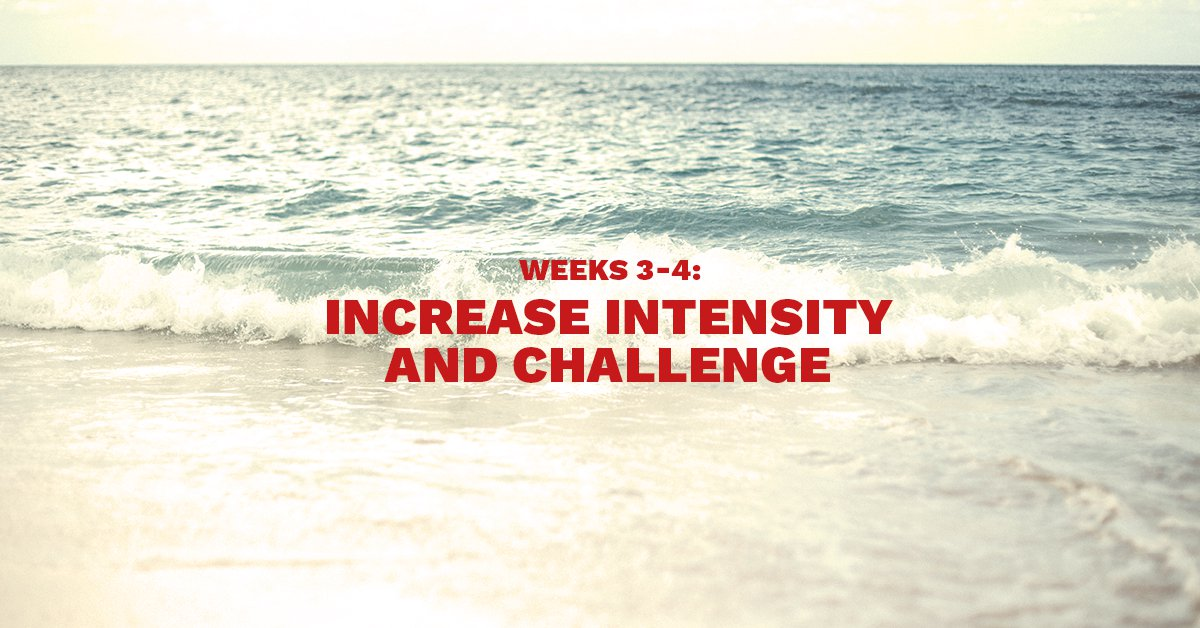 Beach Body Workout in 8 weeks
