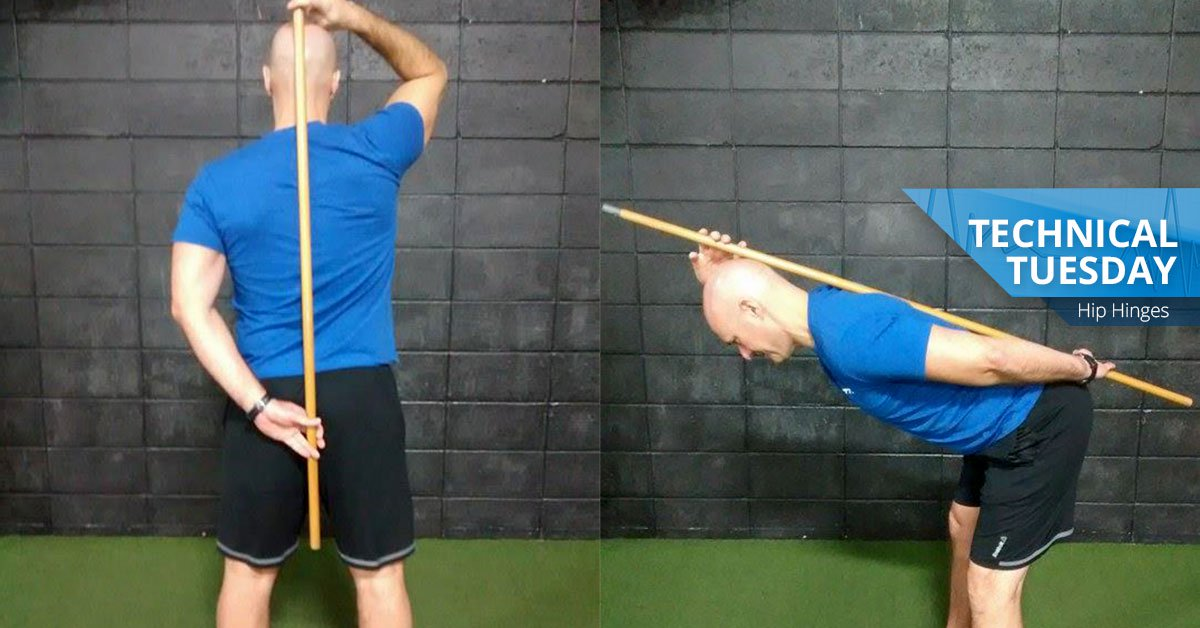 Awesome Exercises You Need To Be Doing: The Hip Hinge