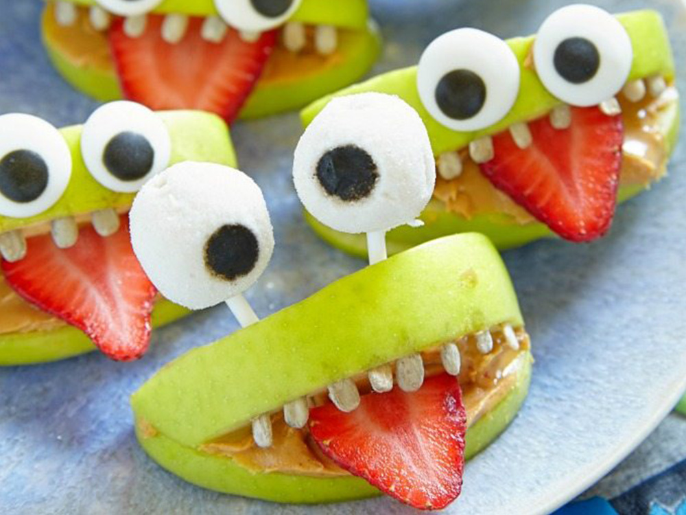 healthy-halloween-snack-monster-apples