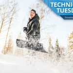 Shoveling snow is part of our Technical Tuesday tips this week. Make shoveling snow your workout!
