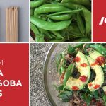 CSA Haul Recipe Sugar Snap Peas Sesame Soba Noodles