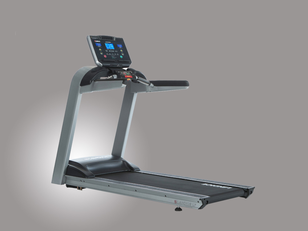 Landice Treadmill L7 with Orthopedic Belt and Cardio Control Panel - Treadmill Review
