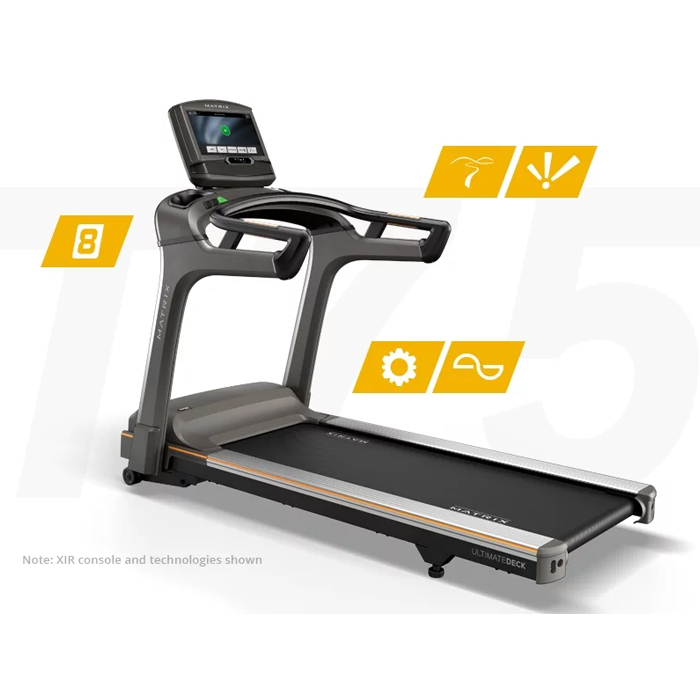Matrix T75 Treadmill with XIR Console