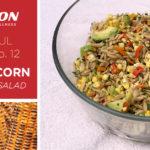 csa haul recipe grilled corn avocado salad