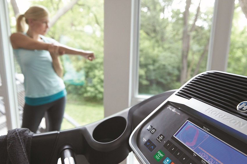 Adventure Treadmill, Horizon Fitness, Exercise Equipment