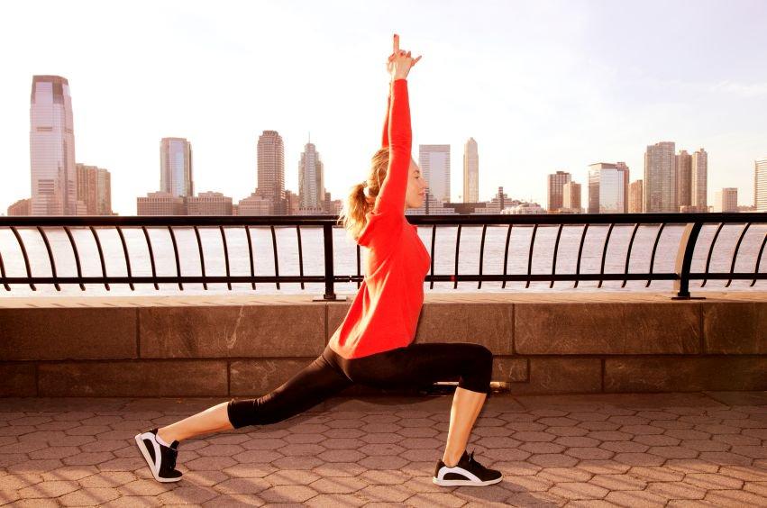 Yoga for a Run, Running