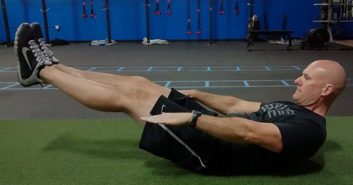 Ab exercise for a stronger core