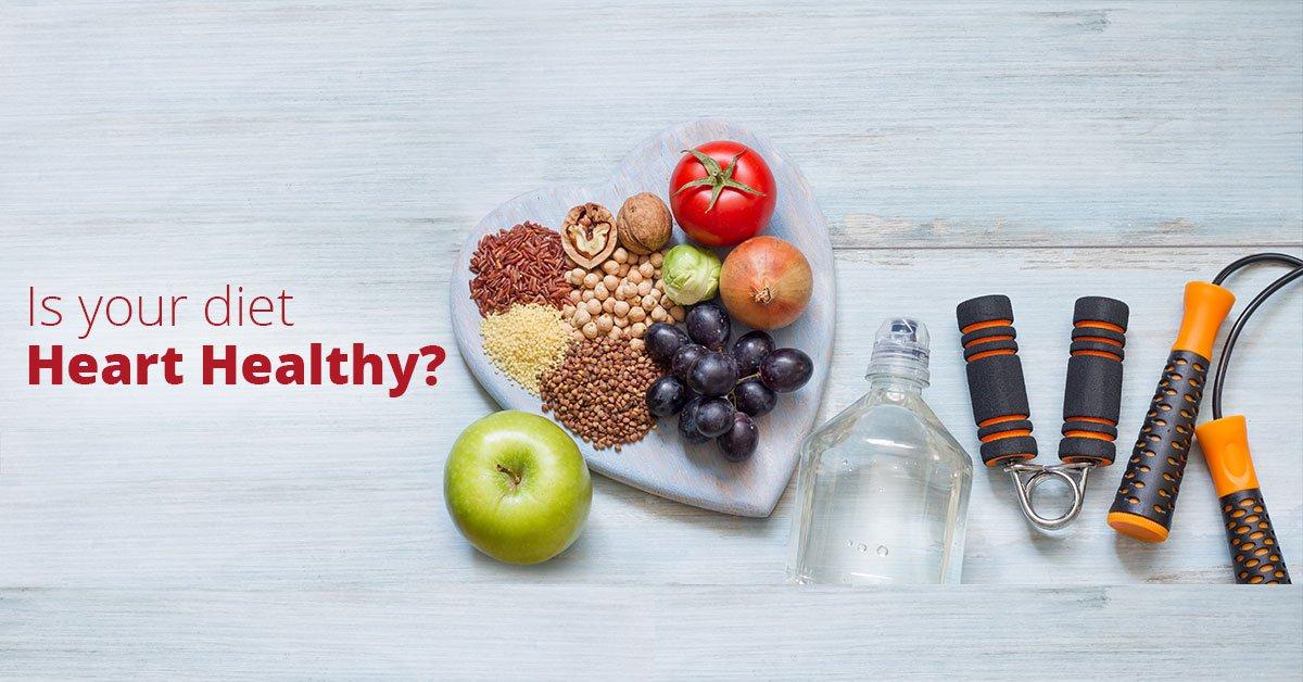 is your diet heart-healthy?