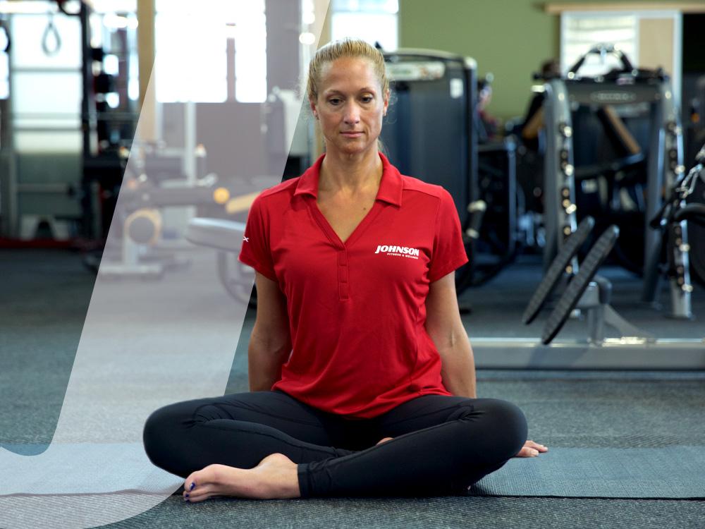 yoga posture breath awareness